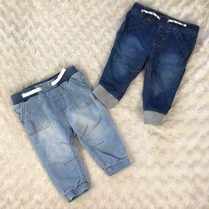 Cat & Jack Jogger Jeans Size 3-6 Months Baby Boy